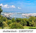 budapest cityscape  view from... | Shutterstock . vector #1183973737
