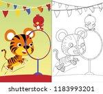 vector cartoon illustration... | Shutterstock .eps vector #1183993201