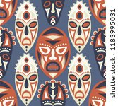 vector illustration. tribal... | Shutterstock .eps vector #1183995031