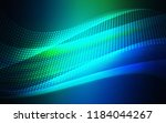 dark blue  green vector texture ... | Shutterstock .eps vector #1184044267