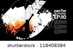 music event illustration | Shutterstock .eps vector #118408384