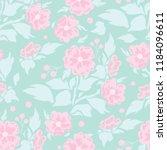 vector seamless pattern  simple ... | Shutterstock .eps vector #1184096611
