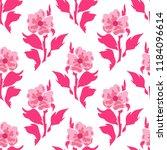 vector seamless pattern  simple ... | Shutterstock .eps vector #1184096614