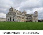 pisa  italy   october 2012 ... | Shutterstock . vector #1184101357