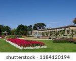 the thabor garden of the city... | Shutterstock . vector #1184120194