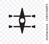 kayak vector icon isolated on...   Shutterstock .eps vector #1184146891