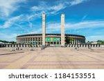 berlin  germany   may 27  2017  ... | Shutterstock . vector #1184153551