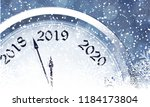 new year's eve 2019 | Shutterstock .eps vector #1184173804