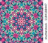 tribal indian ethnic seamless... | Shutterstock .eps vector #1184188447