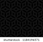black and white geometric... | Shutterstock .eps vector #1184196571