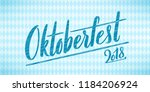 beer festival decoration badge... | Shutterstock .eps vector #1184206924