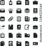 solid black flat icon set clip... | Shutterstock .eps vector #1184225164