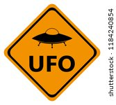 Danger Road Signs Ufo  Icon
