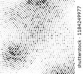 abstract halftone radial dotted ... | Shutterstock .eps vector #1184249977