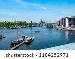 amsterdam netherlands 05 05... | Shutterstock . vector #1184252971