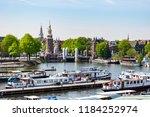 amsterdam netherlands 05 05... | Shutterstock . vector #1184252974
