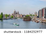 amsterdam netherlands 05 05... | Shutterstock . vector #1184252977