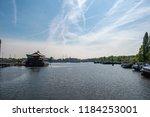 amsterdam netherlands 05 05... | Shutterstock . vector #1184253001