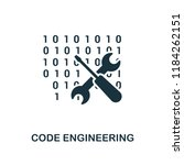 code engineering icon....