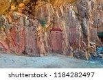 australia  nt  aboriginal rock... | Shutterstock . vector #1184282497