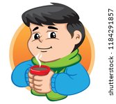 illustration depicts a child... | Shutterstock .eps vector #1184291857