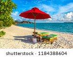 maldives   june 24  2018 ...   Shutterstock . vector #1184388604
