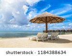 maldives   june 24  2018 ...   Shutterstock . vector #1184388634