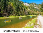 Rafts With Tourist On Dunajec...