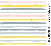 paint stripe seamless pattern.... | Shutterstock .eps vector #1184422987