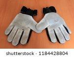 soccer goalie gloves | Shutterstock . vector #1184428804
