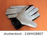 soccer goalie gloves | Shutterstock . vector #1184428807