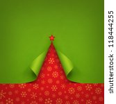 Christmas Tree Created From...
