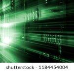 big data center highspeed... | Shutterstock . vector #1184454004