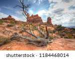 arches national park | Shutterstock . vector #1184468014
