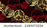 japanese chinese vector design... | Shutterstock .eps vector #1184472334