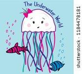 Text Fish Jellyfish Baby Girl...