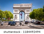 paris  france   june 17  2004 ... | Shutterstock . vector #1184492494