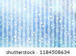 light blue vector template with ... | Shutterstock .eps vector #1184508634
