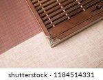 solid wood ebony tea tray set | Shutterstock . vector #1184514331