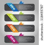 web banner set   Shutterstock .eps vector #118455787