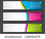 collection banner design | Shutterstock .eps vector #118456375