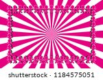 radial background material... | Shutterstock .eps vector #1184575051