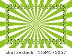 radial background material... | Shutterstock .eps vector #1184575057