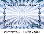 radial background material... | Shutterstock .eps vector #1184575081