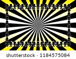 radial background material... | Shutterstock .eps vector #1184575084