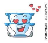 in love cartoon double boiler... | Shutterstock .eps vector #1184595391