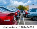 moscow  russia   september  20  ...   Shutterstock . vector #1184626231