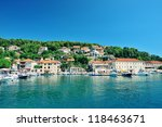 beautiful bay of the island of... | Shutterstock . vector #118463671