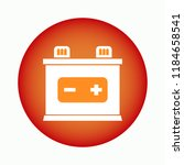 rechargeable battery icon. auto ...
