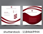 square flyer design. a cover...   Shutterstock .eps vector #1184669944